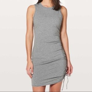 NWT Gray Lululemon Cinch It Dress Sz 10
